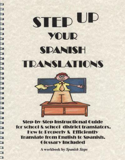 Spanish Steps - Step Up Your Spanish Translations